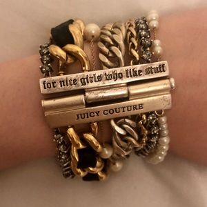 Juicy Couture layered bracelet